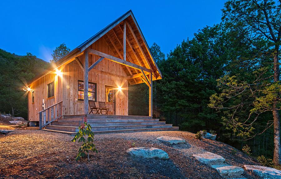 Mały przytulny dom z północnej Caroliny