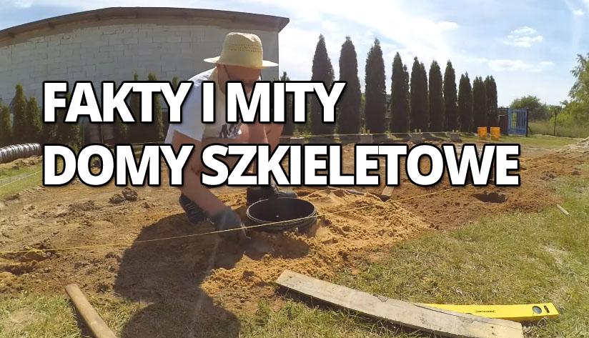 Domy szkieletowe, tani fundament, jak zrobić fundament, jak zrobić tani fundament