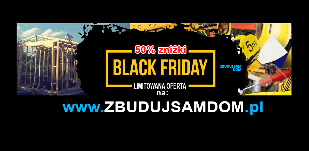 50 % zniżki na Black Friday