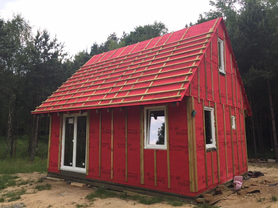 Jak samemu zbudować dom, budowa domu krok po kroku