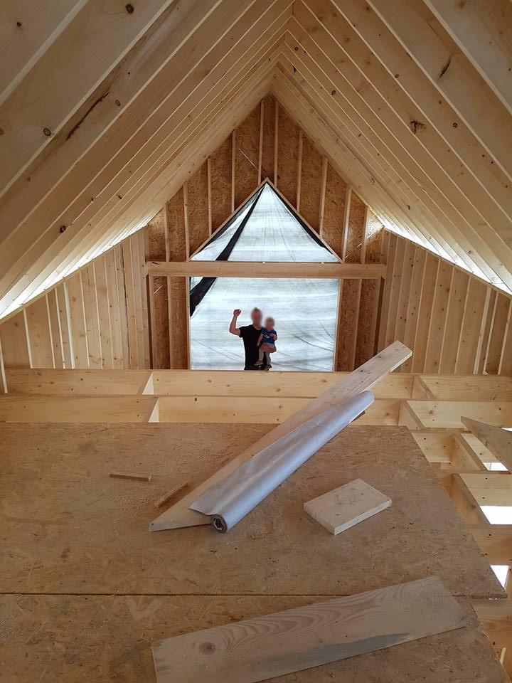 Dom za mniej niż 100tys złotych, budowa domu krok po kroku, modyfikacje projektu