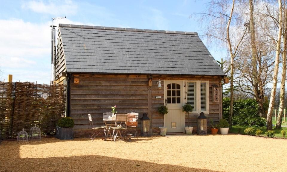 Domek gościnny, Whitchurch, Shropshire, United Kingdom, budowa domu