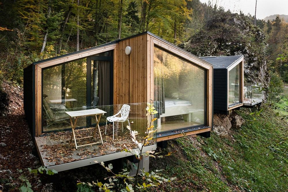 Mały dom, prototyp z Słowenii, budowa domu krok po kroku