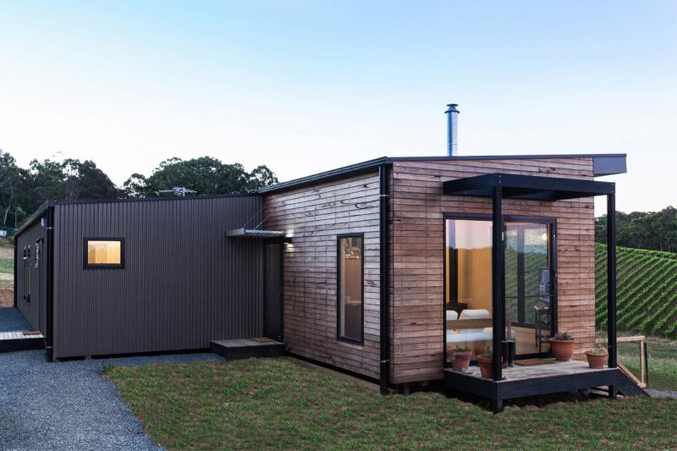 Prosty dom, Australia, budowa domu