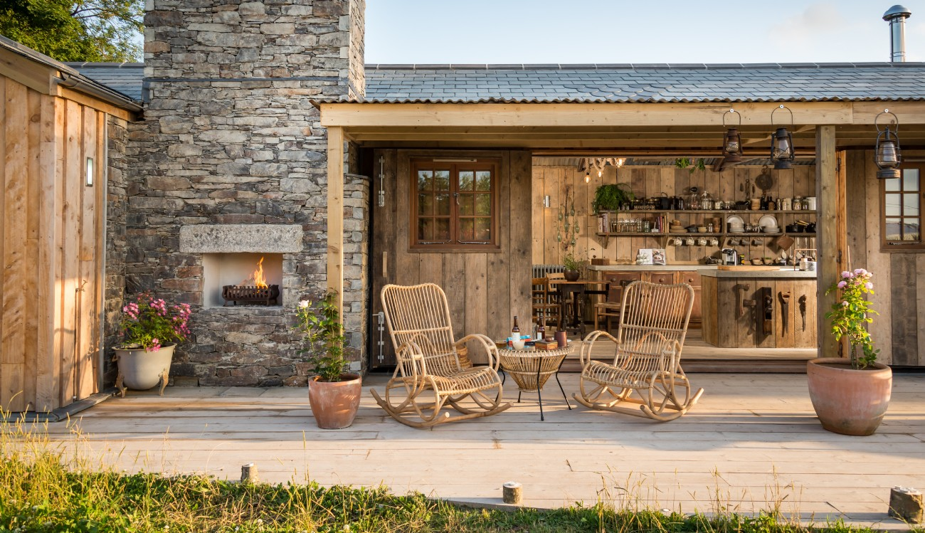 Mały klimatyczny dom, Trebudannon, Mawgan Porth, Cornwall, UK