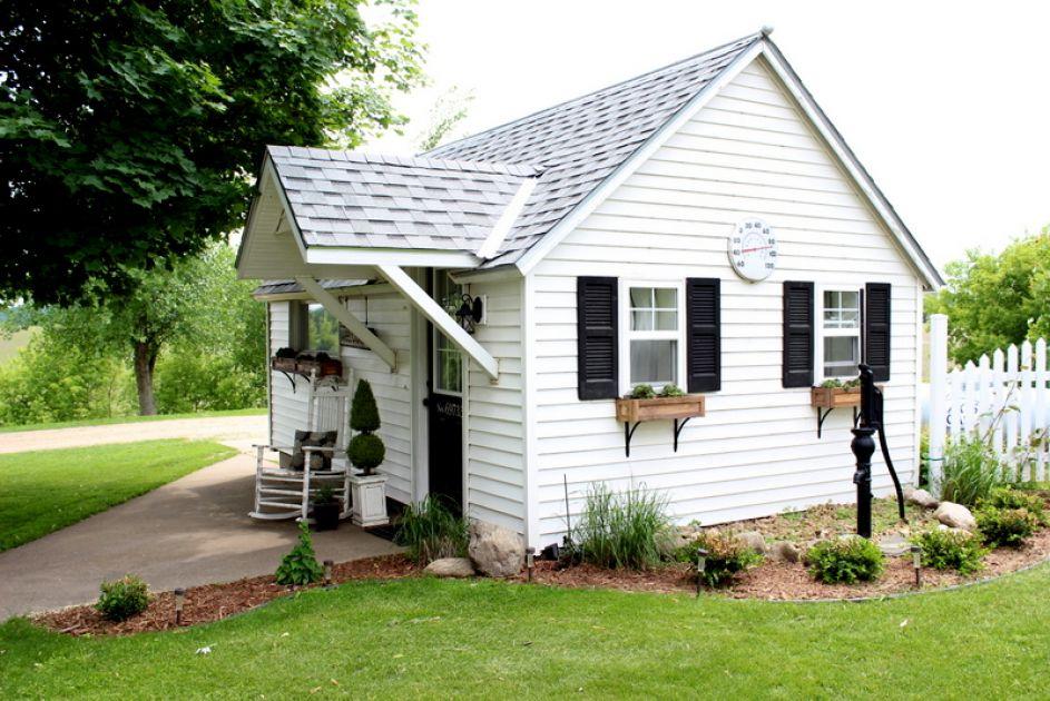 Mały biały domek, budowa domu krok po kroku