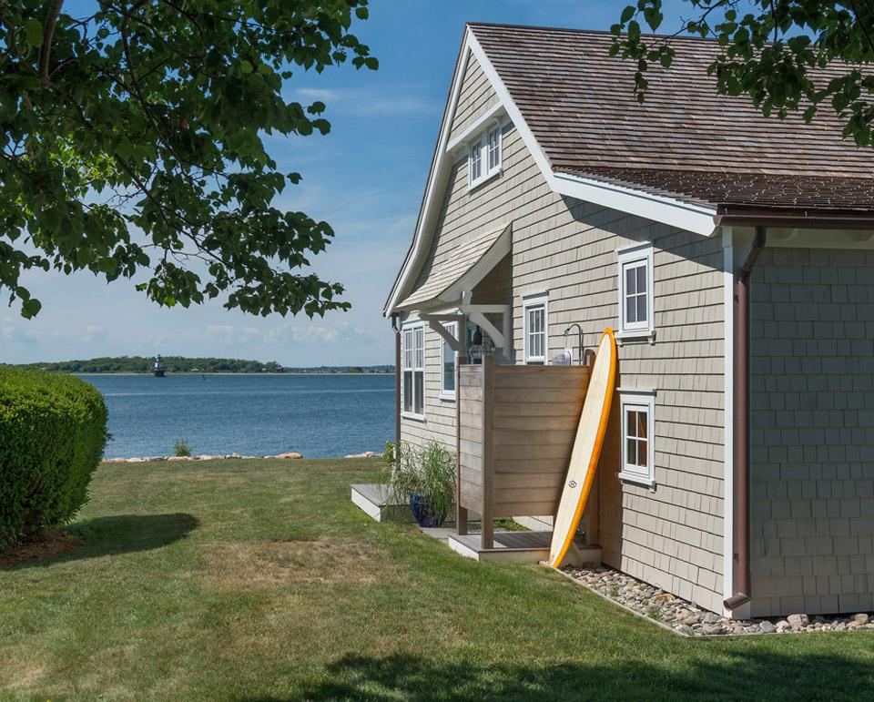 Mały dom,  Jamestown, Rhode Island, budowa domu