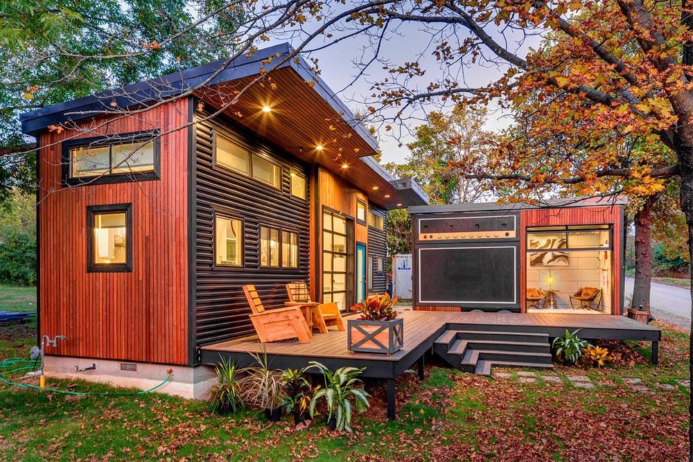 Mały dom, tiny house, budowa domu krok po kroku