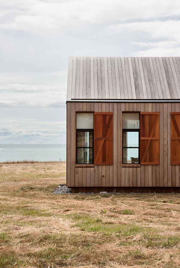 Dom gościnny Nowa Zelandia, budowa domu