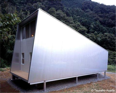 Dom z aluminium, budowa domu, dom o metrażu 57m2