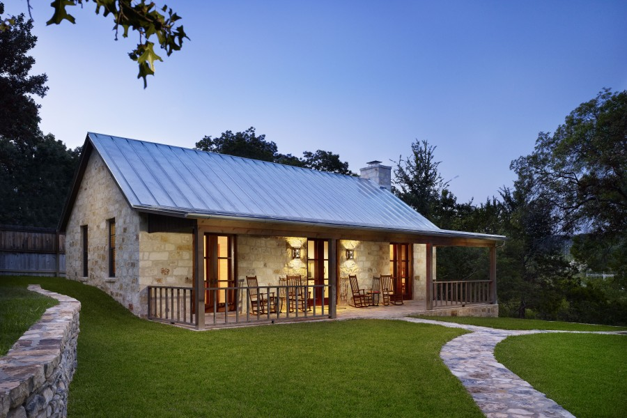 Dom z Hill Country Retreat HUNT, TEXAS, budowa domu