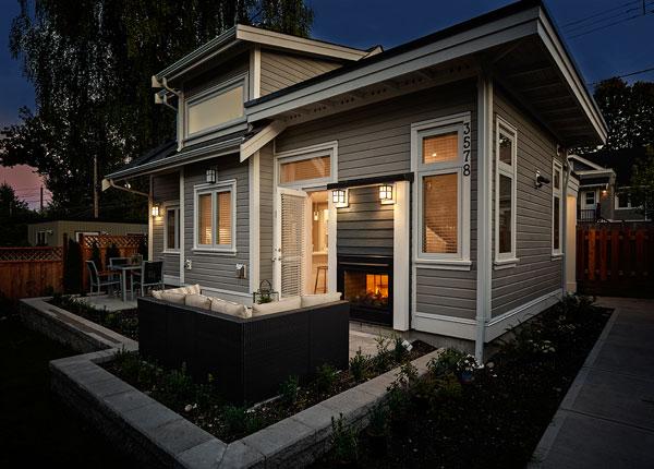 70m2, budowa domu, amerykański styl