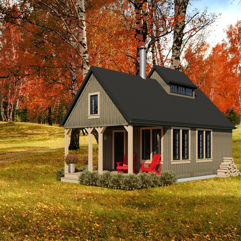 Mały dom, budowa domu, plany