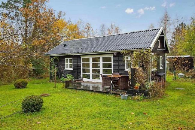 Dom 40m2 w Danii, budowa domu bez pozwolenia na budowę