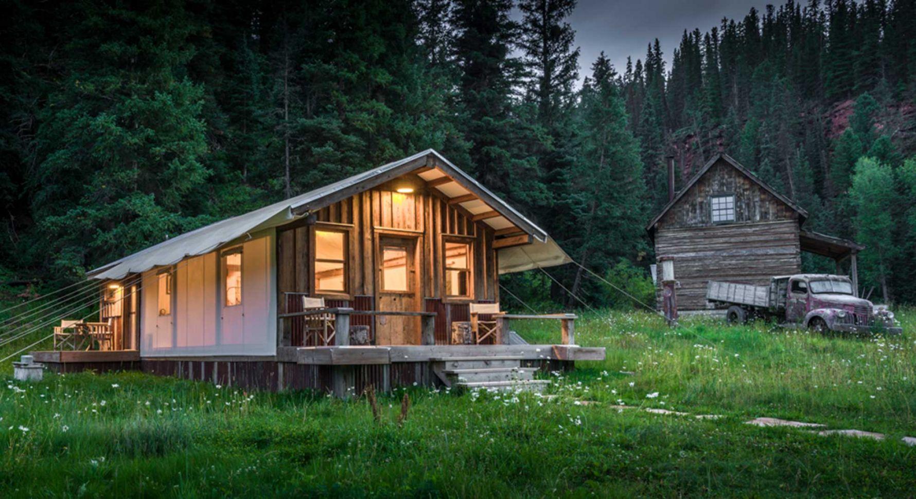Wypoczynkowy dom w Stanach Zjednoczonych