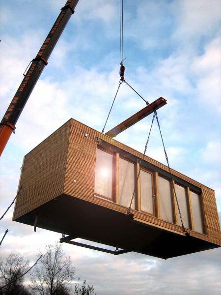 Dom prefabrykowany, dom bez pozwolenia na budowę