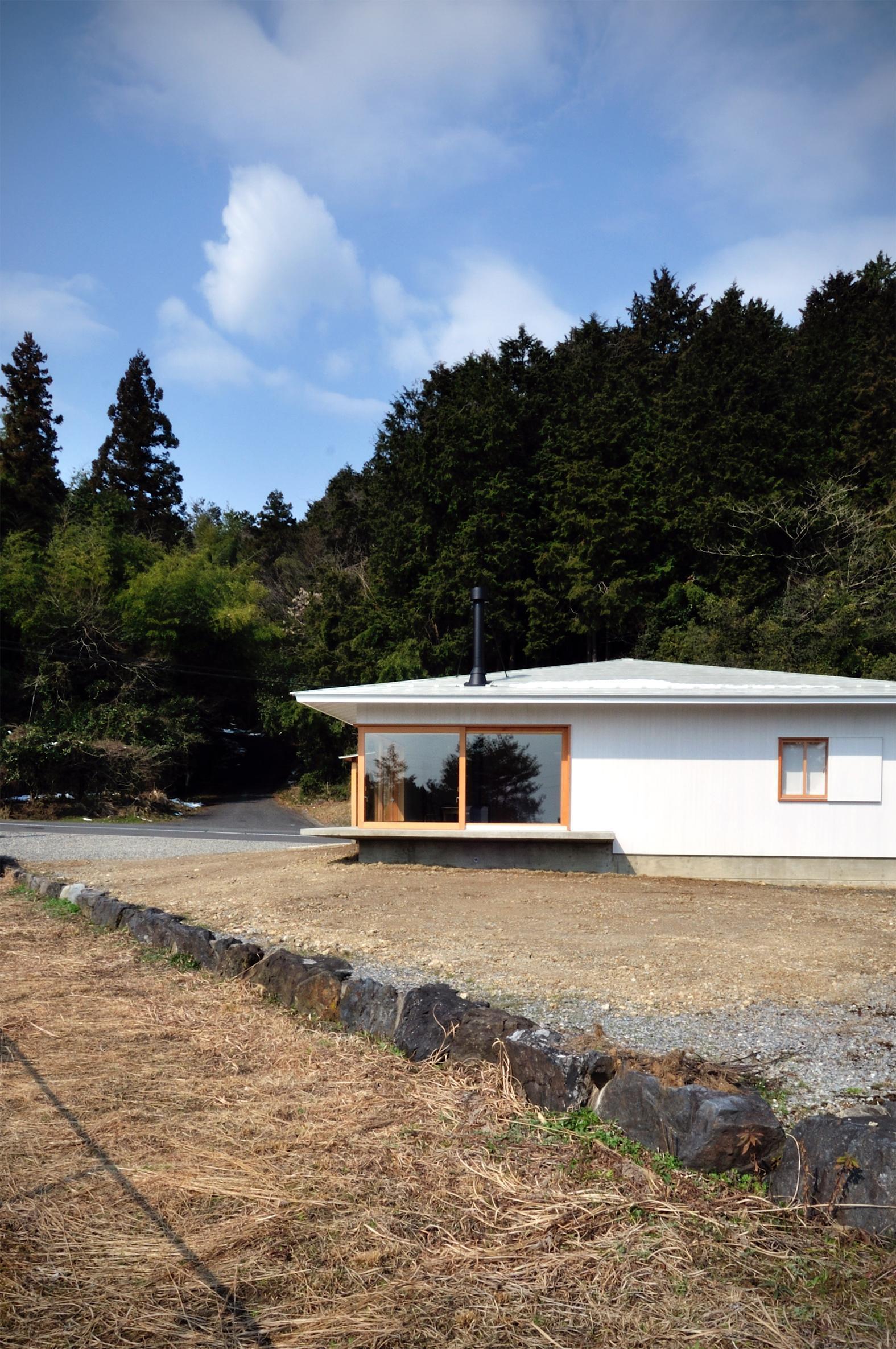 Japoński dom, mały i prosty, dom 100m2