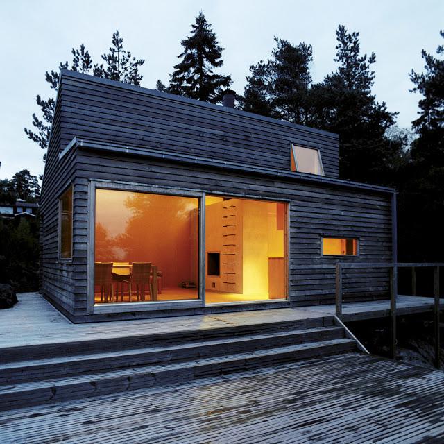 Dom 35m2 z Norwegii