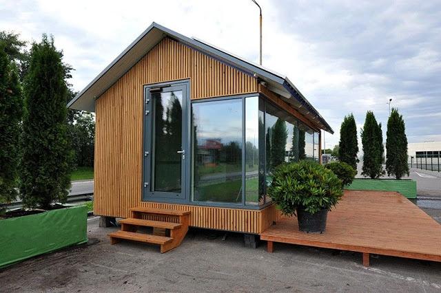 Dom 36m2 wydrukowany na drukarce 3D, budowa domu