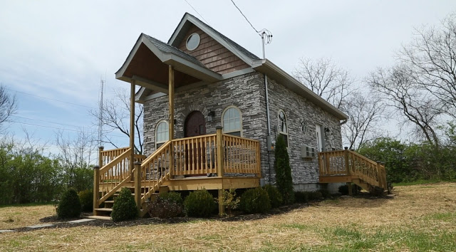 Dom 44m2 w Tennessee, budowa domu