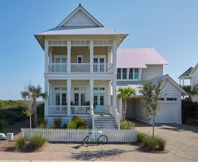 Mały dom w amerykańskim stylu