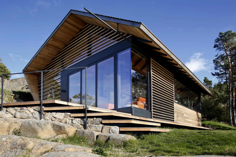 Dom szkieletowy, norweski