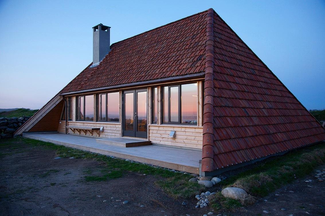 Dom 88m2, Norwegia, budowa domu