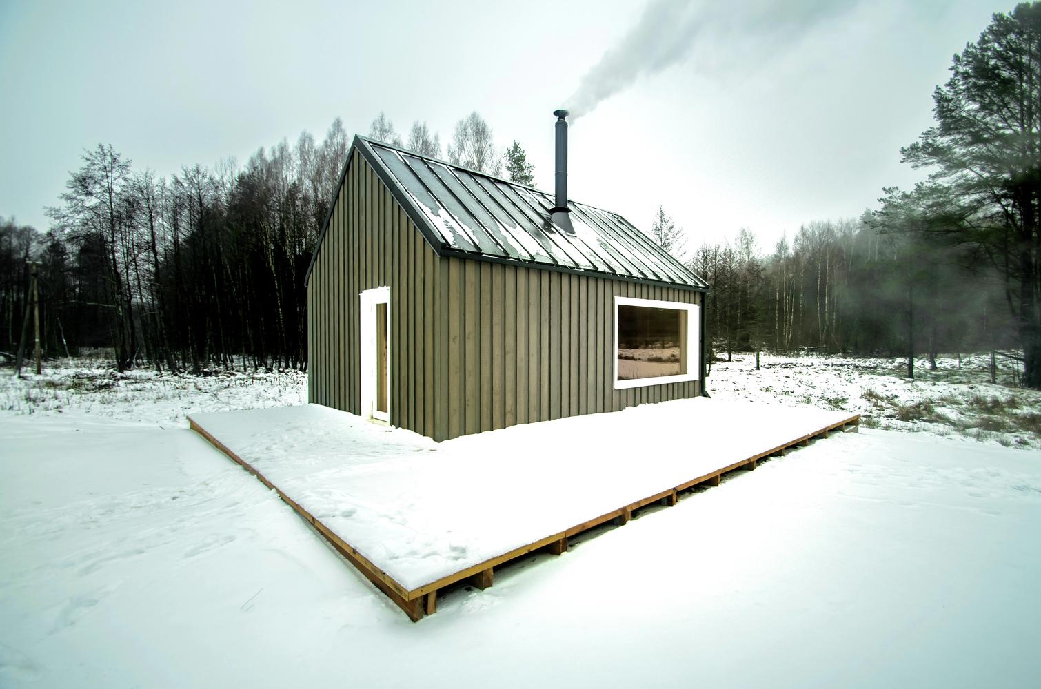 Dom 100m2, budowa domu, Litwa