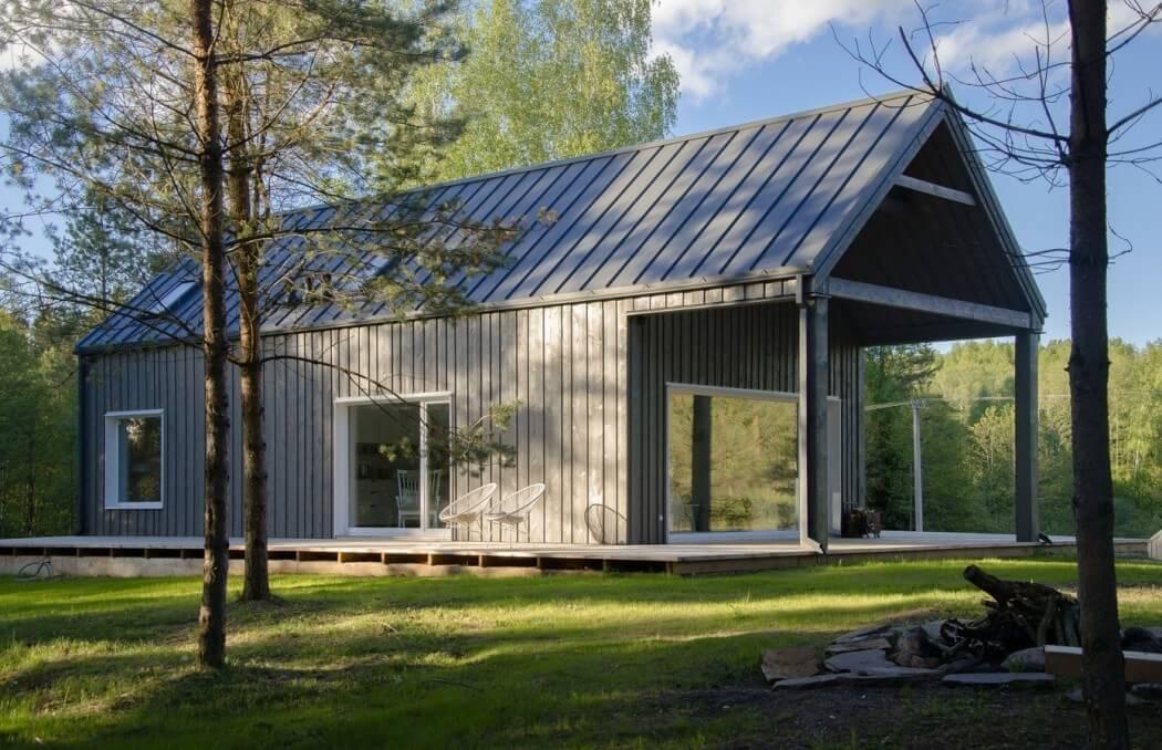 Budowa domu, dom z Litwy
