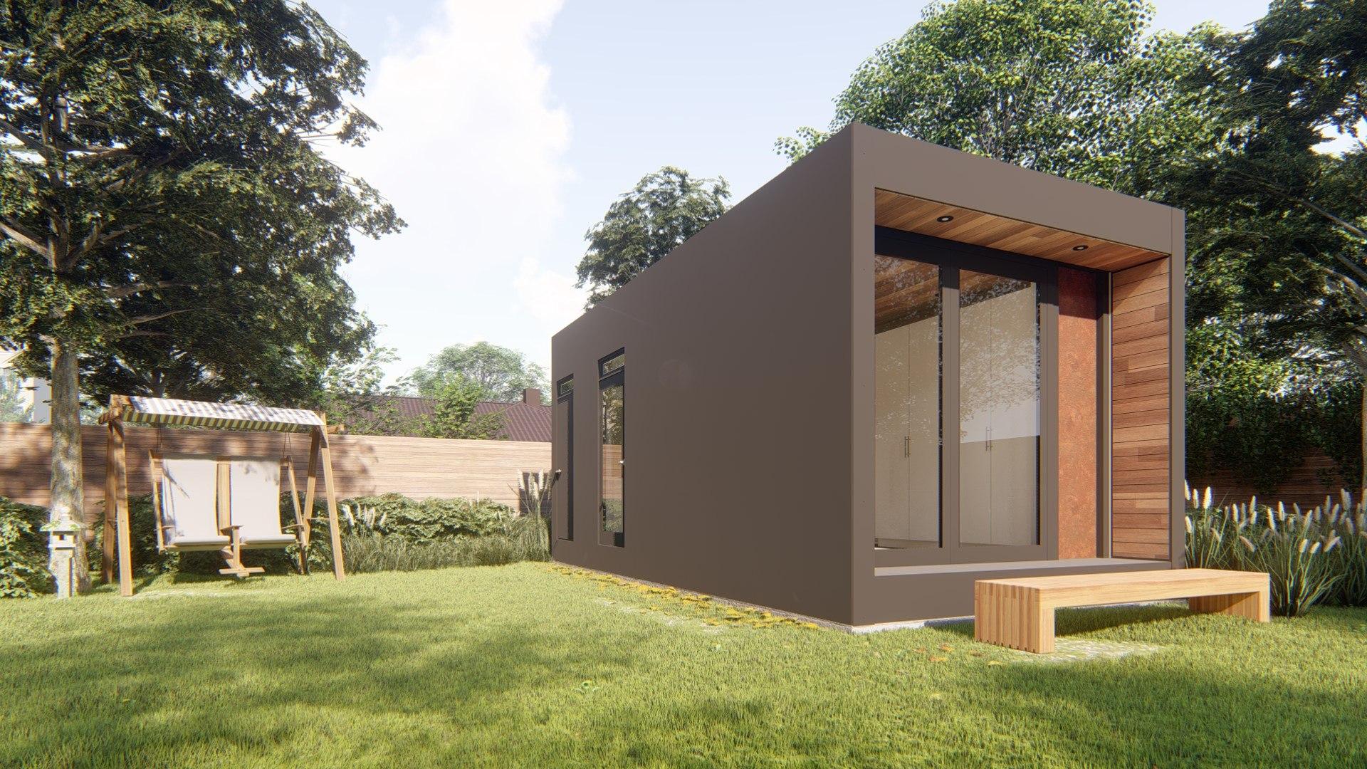 Mały dom, budowa domu bez pozwolenia na budowę