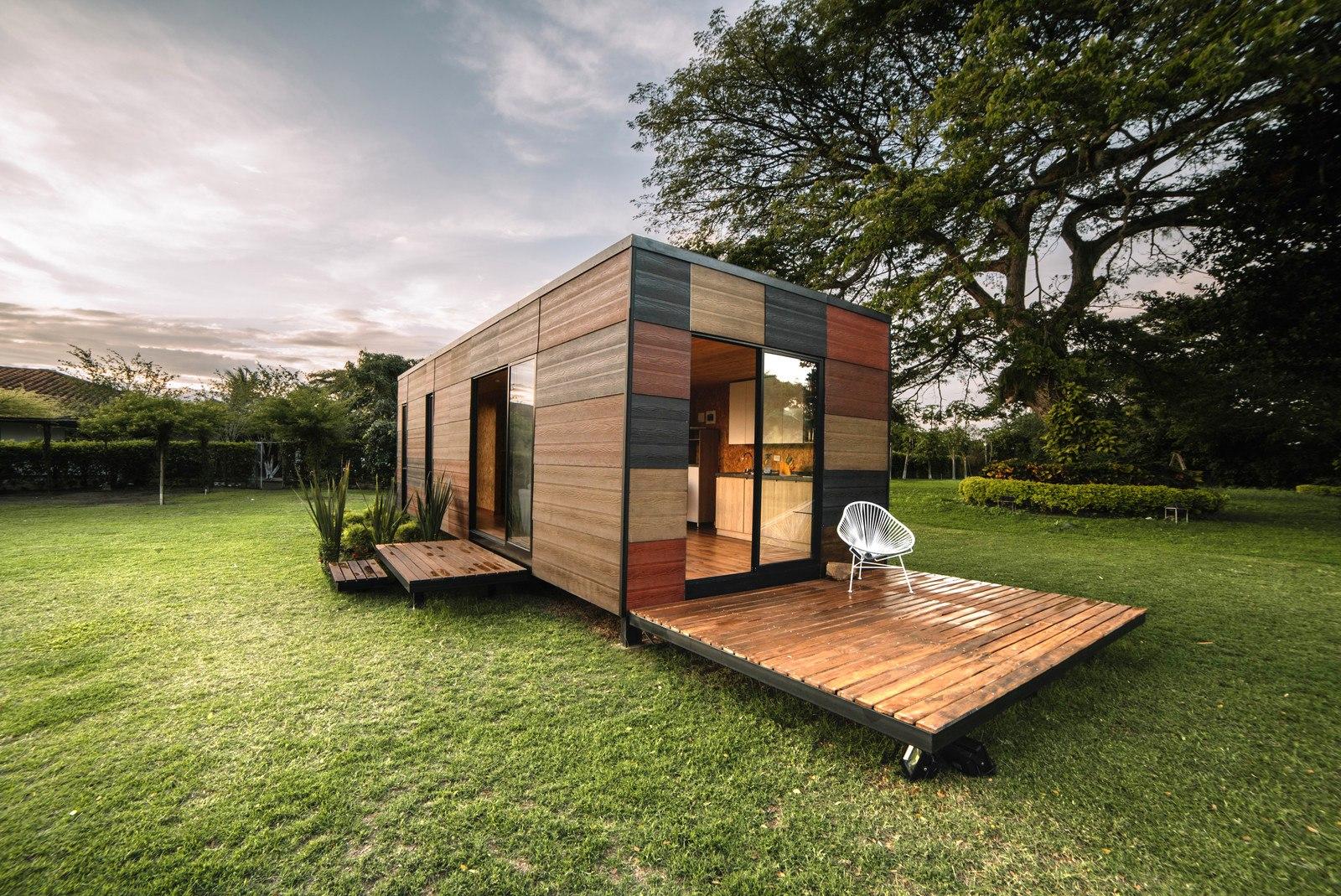 Mały kolorowy domek