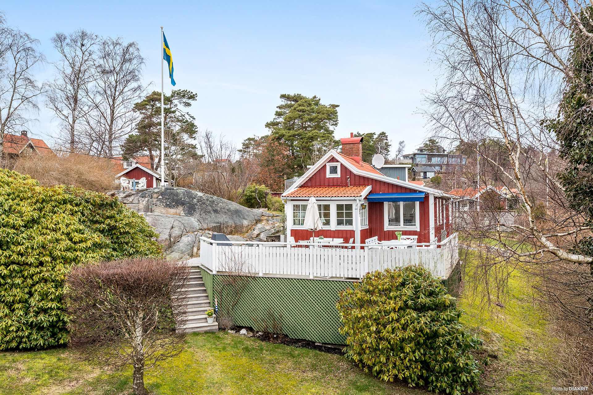 Mały dom, Szwecja
