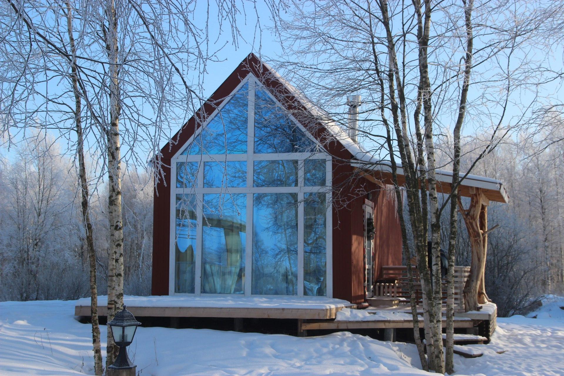 Mały dom bez pozwolenia na budowę, 25m2