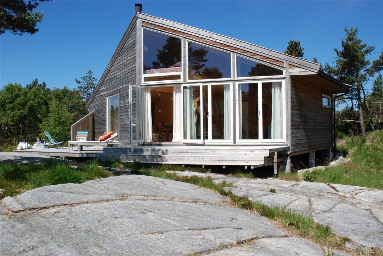 Dom w norweskim stylu, dom 100m2 projekt