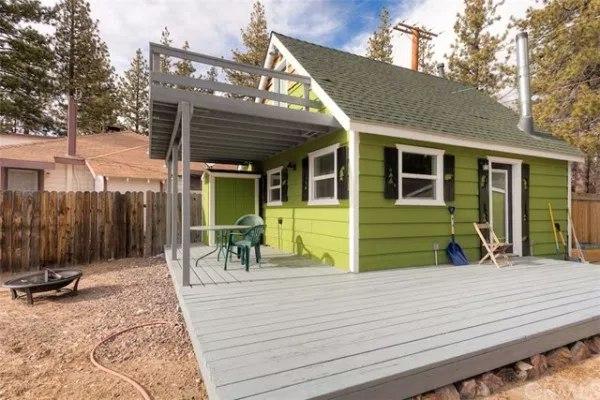 Mały zielony domek, budowa domu