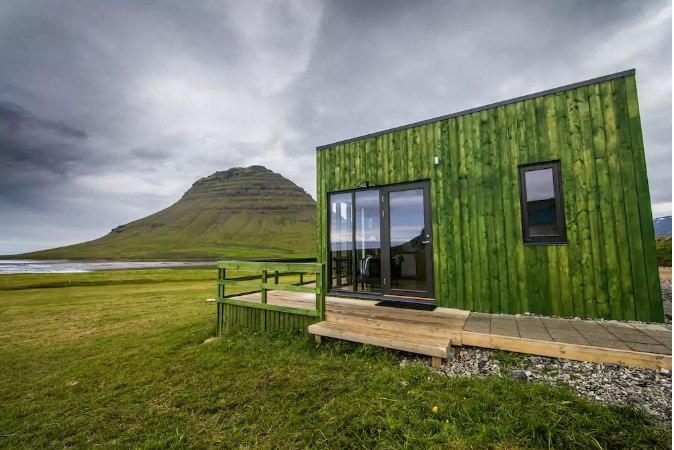 Dwa małe domki w niesamowitym miejscu