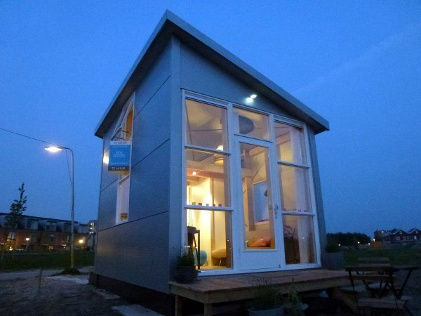 Mała willa, projekt z Holandii, mały dom, dom bez pozwolenia na budowę
