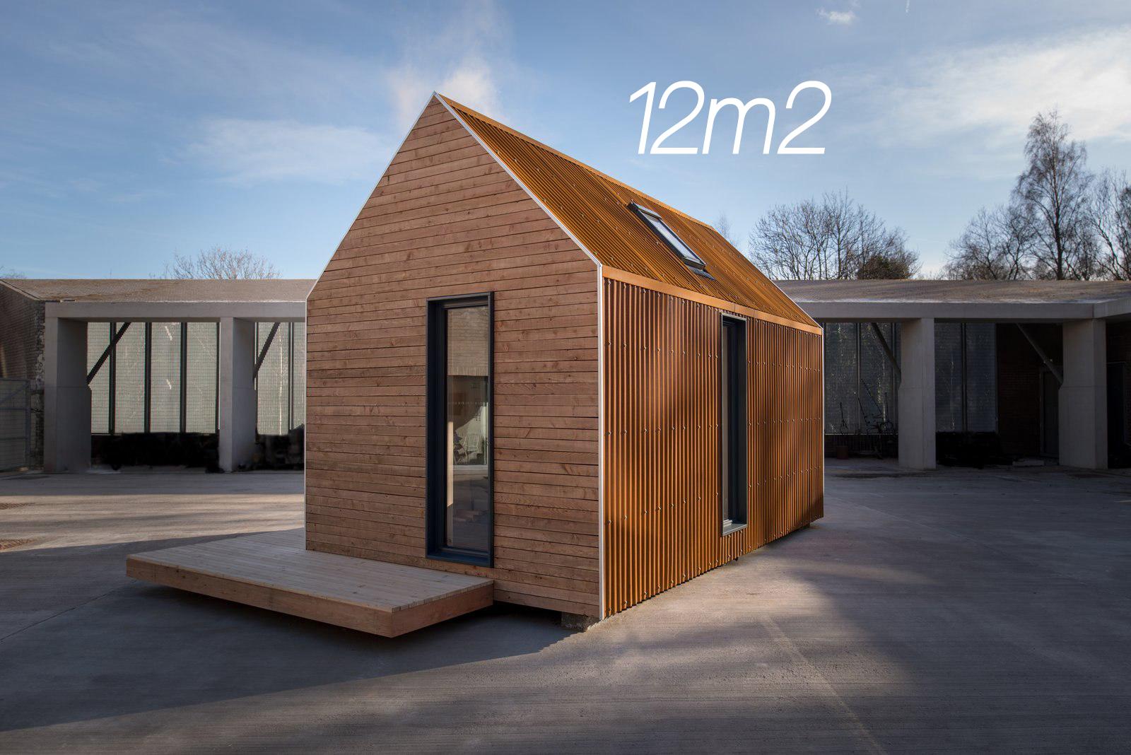 Tiny house, malutki domek, 12m2
