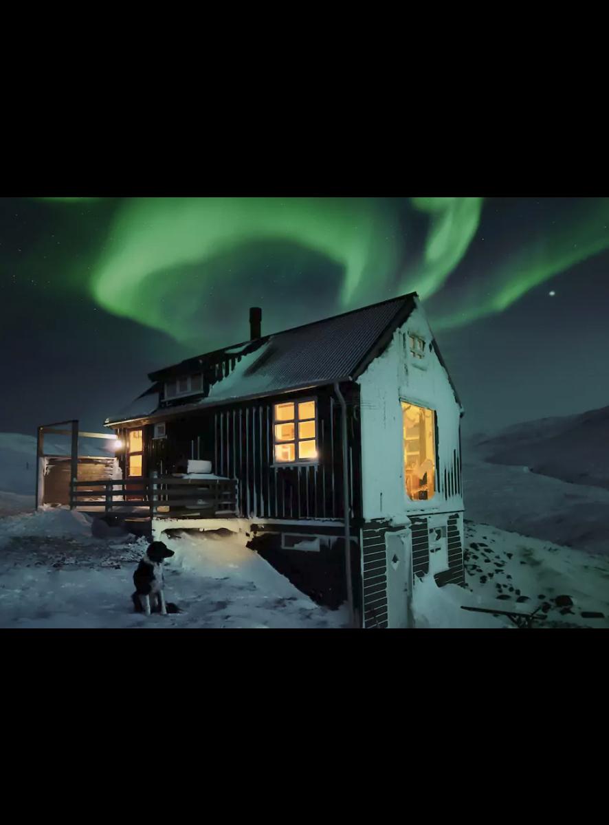 Mały dom w Islandii, dom pod wynajem na airbnb
