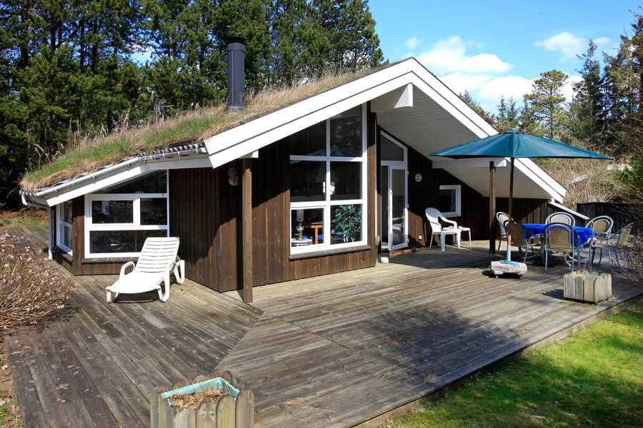 Dom do 100m2, 80m2 z zielonym dachem