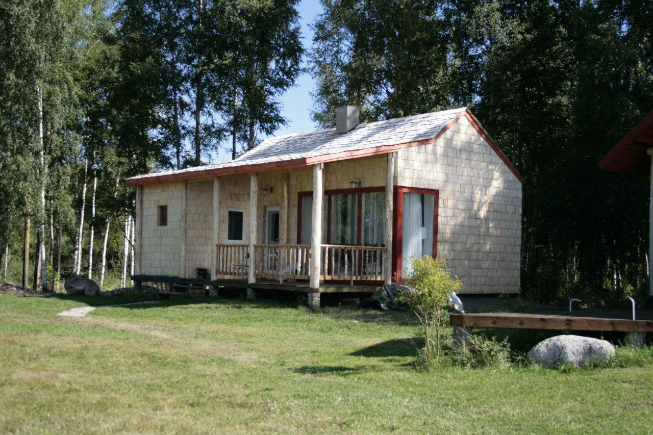 Mały dom, sauna