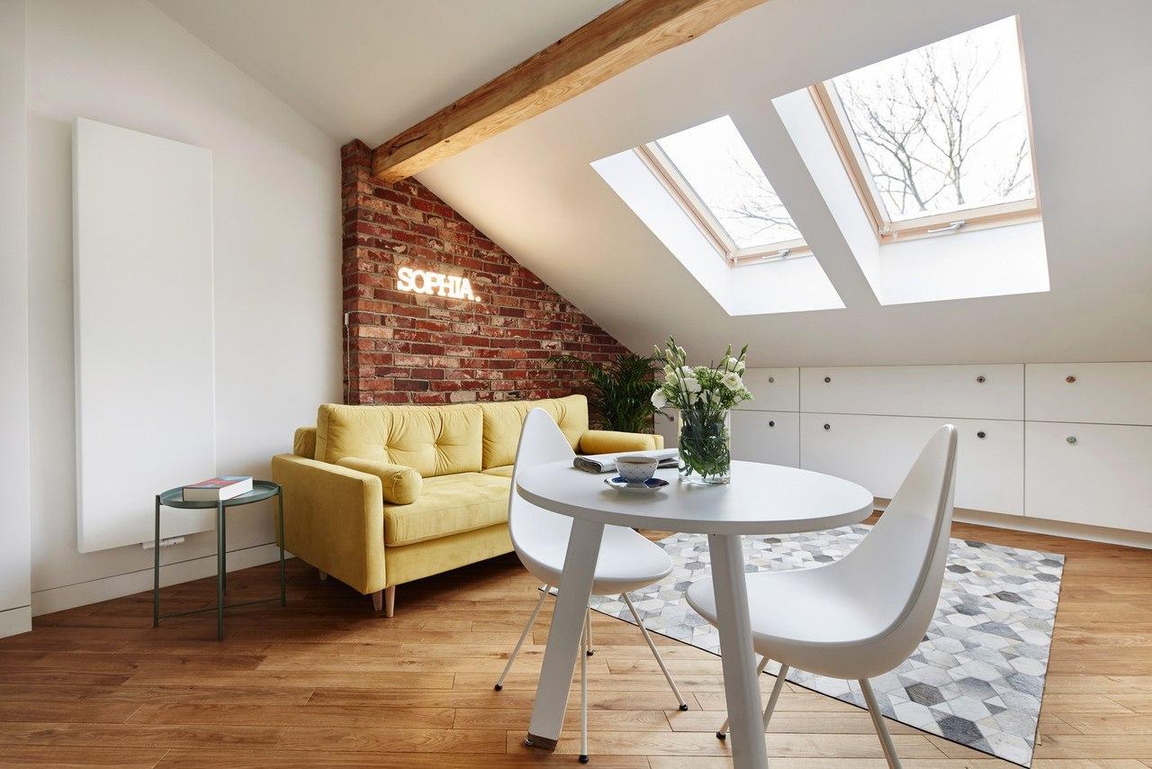 Małe mieszkanie 19m2