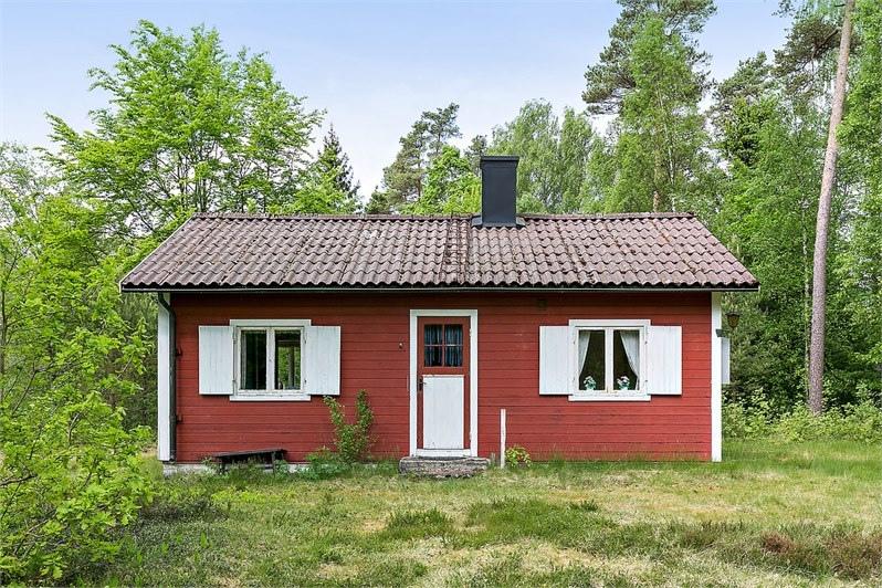 Mały dom w szwedzkim stylu, 45m2