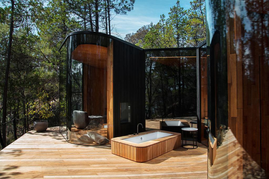 Dom z dużym przeszkleniem, Australia