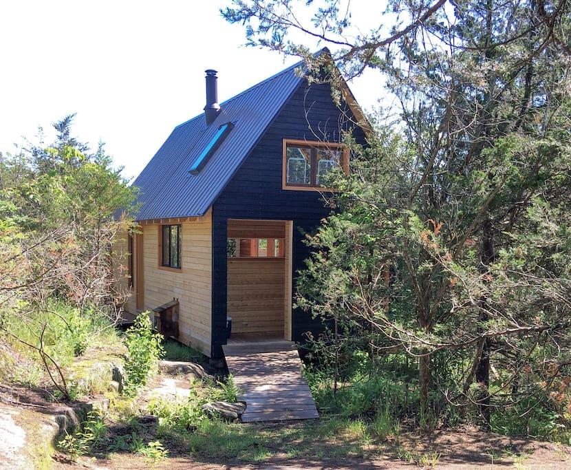 Mały dom, ciekawy projekt małego domu