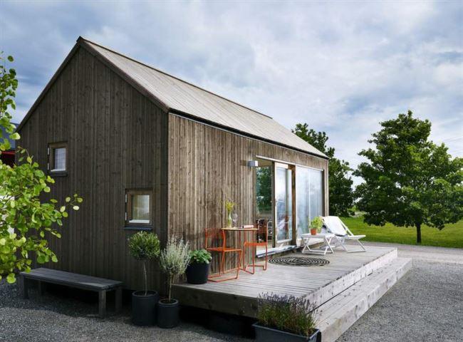 Dom bez pozwolenia na budowę, 25m2, Norwegia