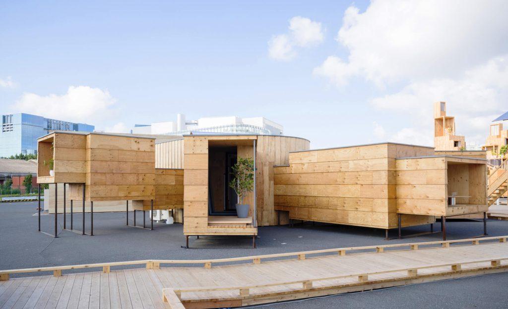 Dom w japońskim stylu, budowa domu