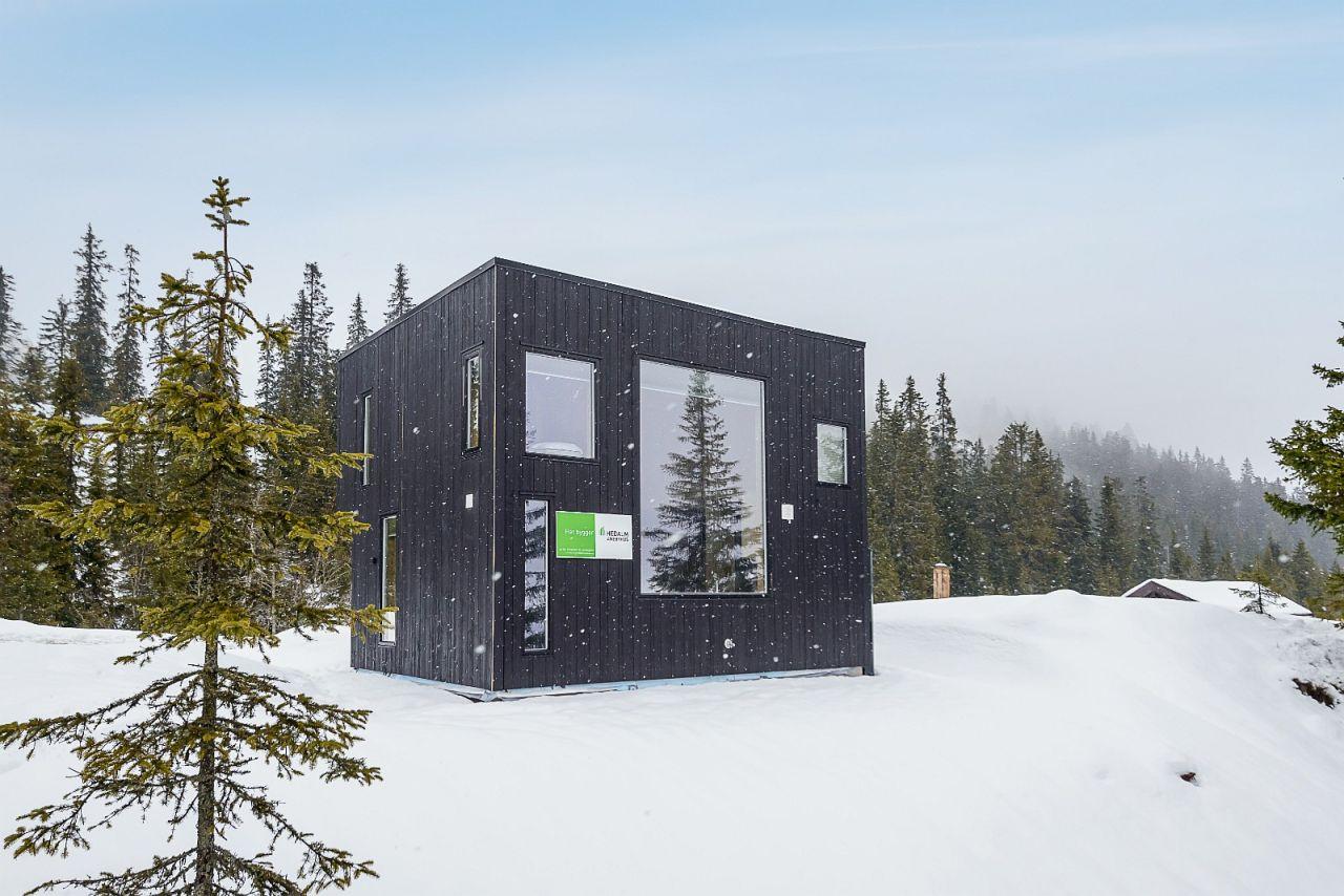 28m2 Norwegia, mały dom, dom bez pozwolenia na budowę