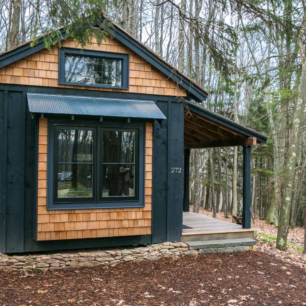 Mały dom bez pozwolenia na budowę, USA