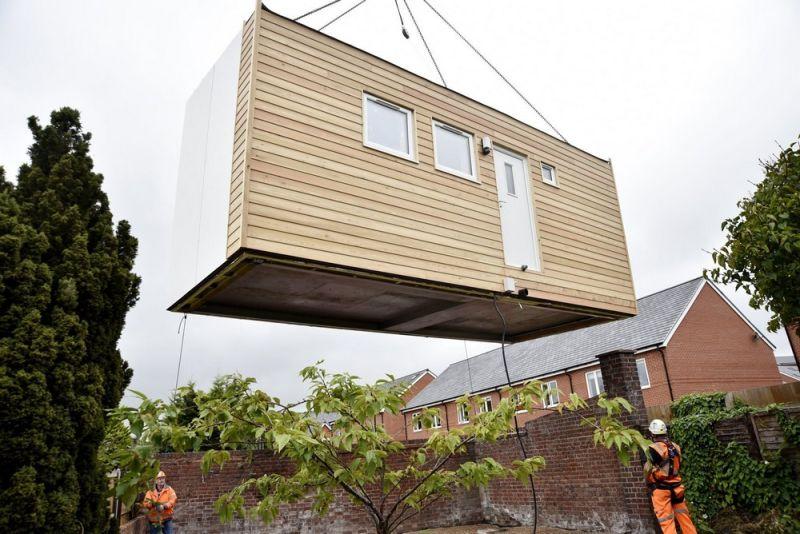 Micro dom, budowa domu